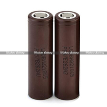 korea 3.7V 18650 lgdbhg21865 battery 3000mah rechargeable cylindrical li-ion battery for electronic cigarette