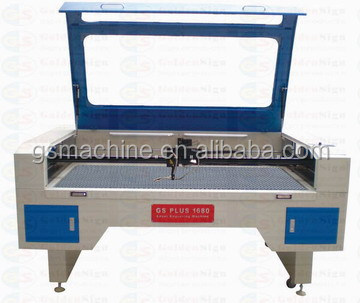 High precision CO2 fabric cloth non woven laser cutting machine eastern