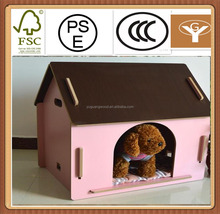 pet house hutch puppy wood cage shelter
