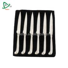 7pcs stainless steel royalty swiss line knife set