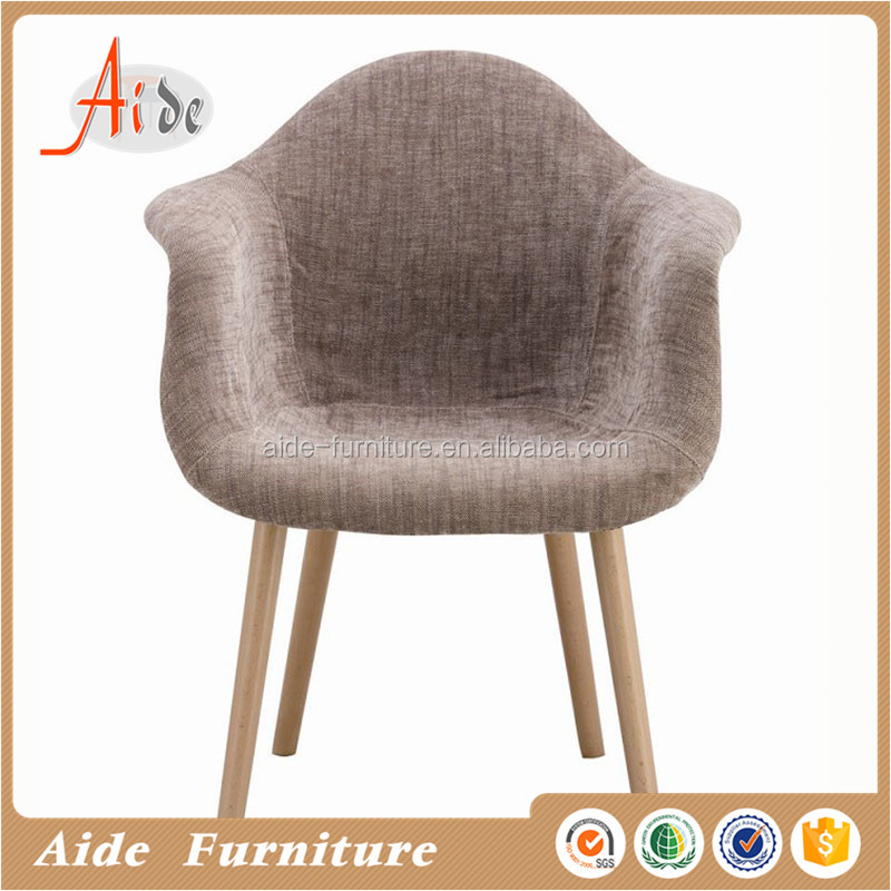 living room leisure armchair fabirc covered leisure chair
