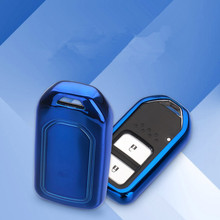 New TPU Keyless Entry Remote Smart Key Cover Fob Case Fit For Honda Accord Civic Jade UR-V XR-V CR-V CR-Z FIT