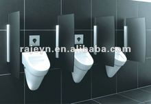 wall mount stainless steel auto flush urinal