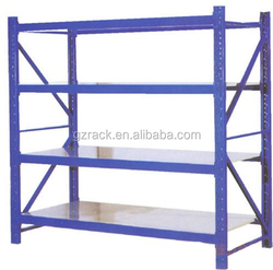 Promotion! Made in china Adjustable Guangzhou adjustable iron shelf rack