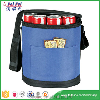 Polyester Promotional Outdoor wine cooler bag