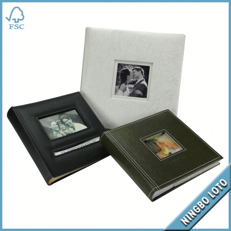 China professional supplier magnetic wedding photo album