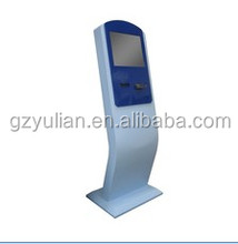 "Yulian 17"" 19"" Touch Screen Photo Booth Kiosk/Information Interactive Kiosk/Automatic Ticket Vending Machine for Cinema"