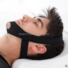 New design!! Triangle neoprene anti snore chin strap/anti snoring jaw support