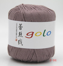 golo 10ply natural cotton lace weight yarn from china for hand knitting crochet knitting