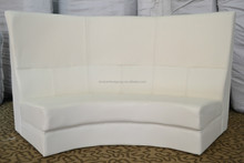 For event /wedding/party high back sectional sofa