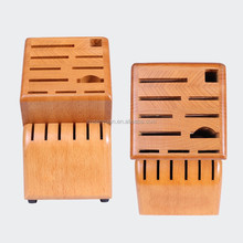 Superior Bamboo Knife Block Set