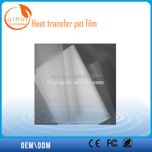 Excellent quality material type and heat transfer pet film