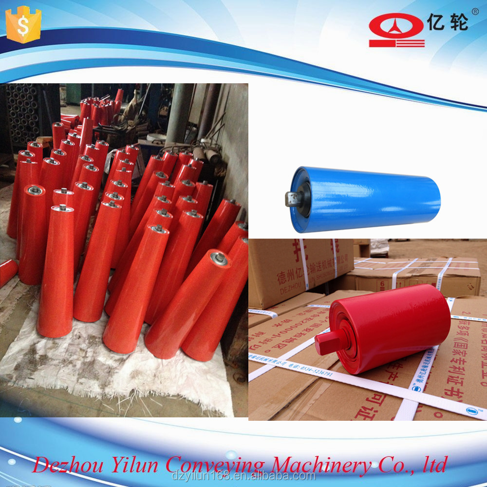 Idler roller for conveyor belt
