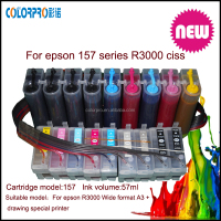 ciss for epson CISS for T1571-T1579 ink cartridges with ARC compatible for Epson R3000 printer