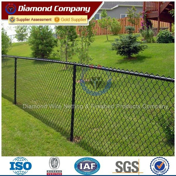 chain link fence for baseball fields
