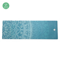 hot non-slip printed wholesale microfiber yoga mat