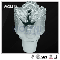WOLFNI TCI Rock Roller Cone Bit, Sealed Bearing for High Temp Drilling Deep Wells
