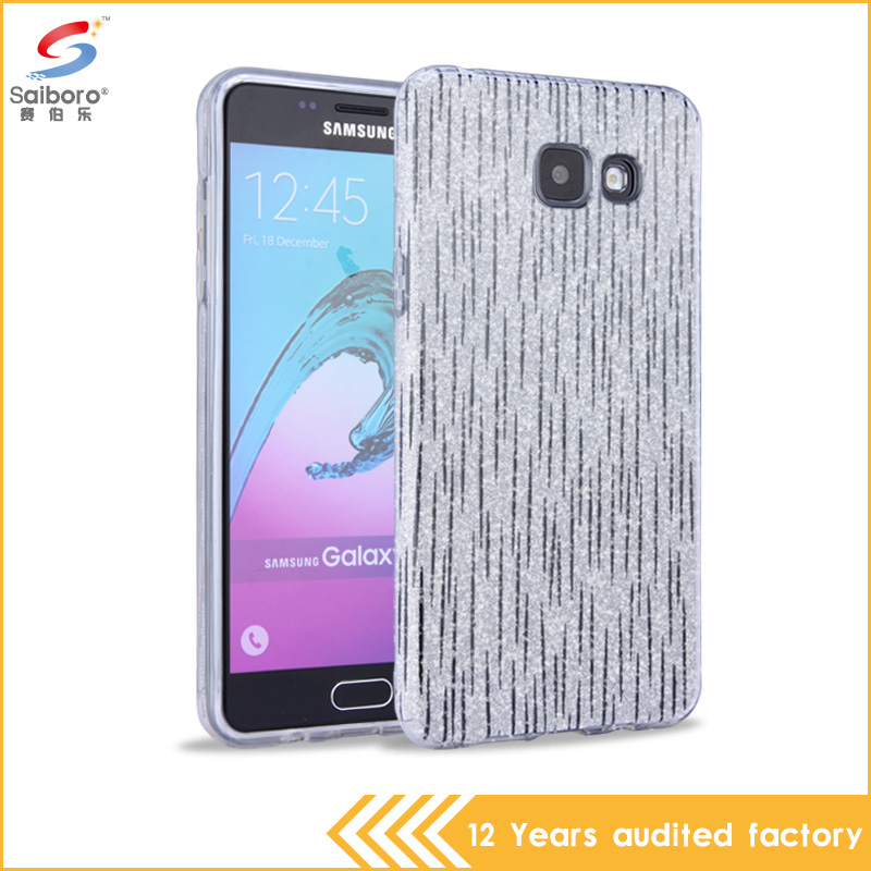 wholesale 3 in 1 glitter color bling bling tpu pc cell phone case for samsung galaxy note 7