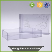 Customize Clear Acetate Square Boxes