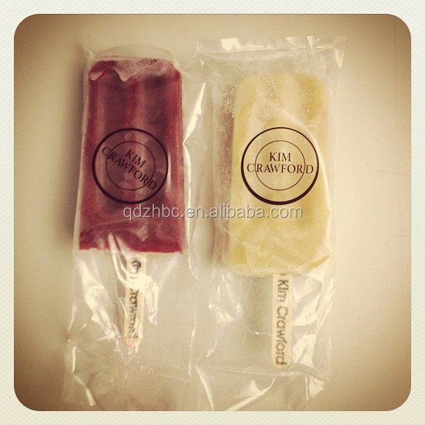 Biodegradable ice cream pouch /popsicle packaging bag/plastic bag ice