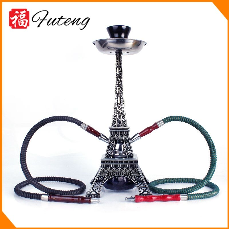 High quality Wholesale saudi arabia Yiwu Factory 2 tube shisha hookah