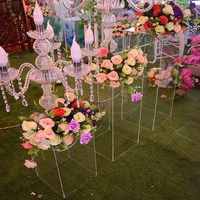 Wedding Table Centerpiece High Quality Acrylic Flower Stand for Wedding Decoration
