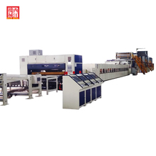 5 Layers Corrugated Cardboard Production Line B,E,F FLute Carton Making Machine