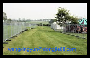 directly sell Easy installation temporary dog fence ,temporary fence vendor