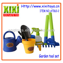 7Pcs wholesale funny plastic kids mini garden tool set