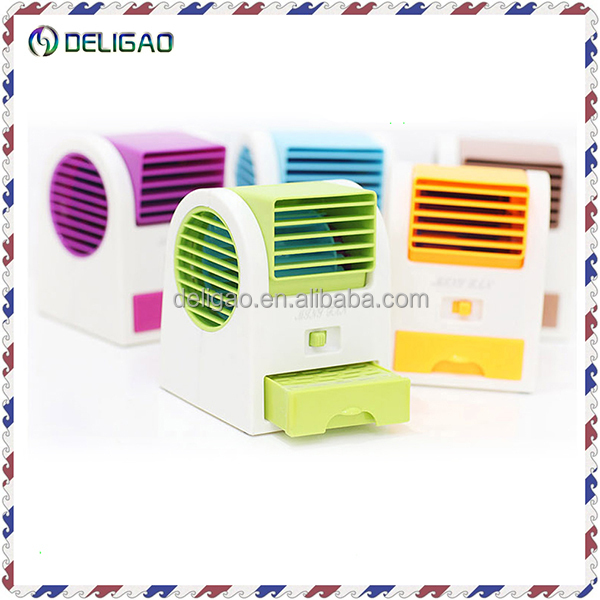 New USB Or Battery Aromatherapy Fan Air Conditioner Mini Bladeless Coolling cool