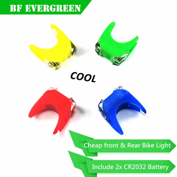 Multi-functional Waterproof Super Bright& Exquisite 3 Mode 2LED Bicycle Rear Light