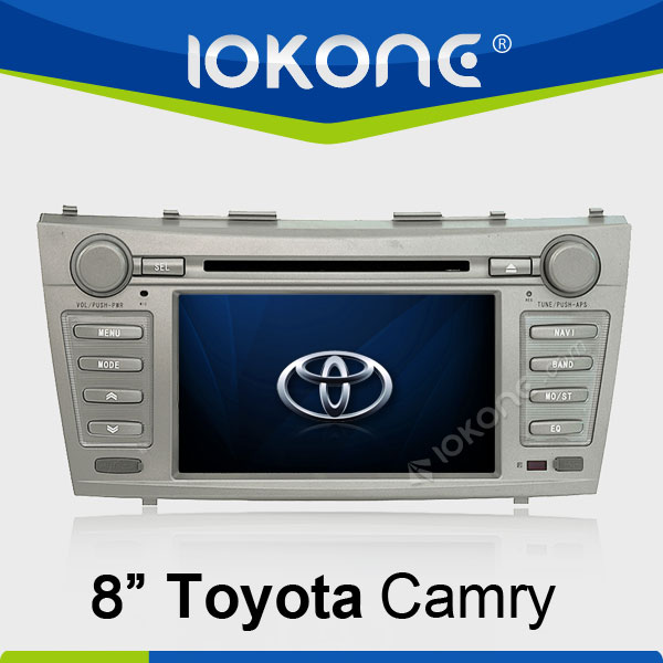 "8"" HD Touch screen 2 din 2008-2011 car audio system toyota camry with gps, TMC, camera, mic, dvb-t"