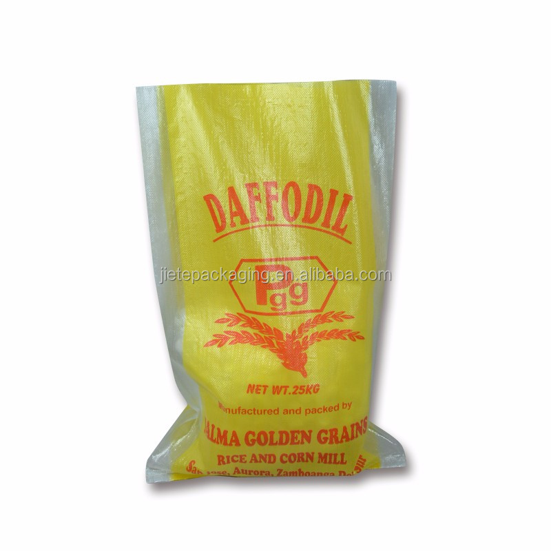 Video, Ordinary high quality plastic 25 kg wheat flour rice pp woven bags