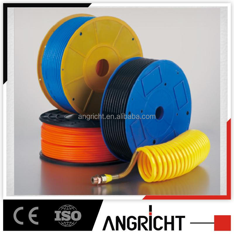 Nylon Pneumatic Air PU Hose With Yellow Red White Black Blue Color