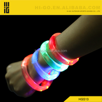 led flashing sound activation bracelet silicone rfid remote controlled led wristband/sound control glow in the dark rubber bands
