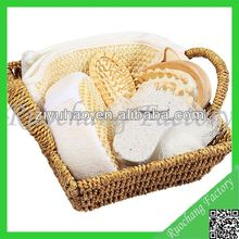 Seagrass basket body and Bath Gift Set