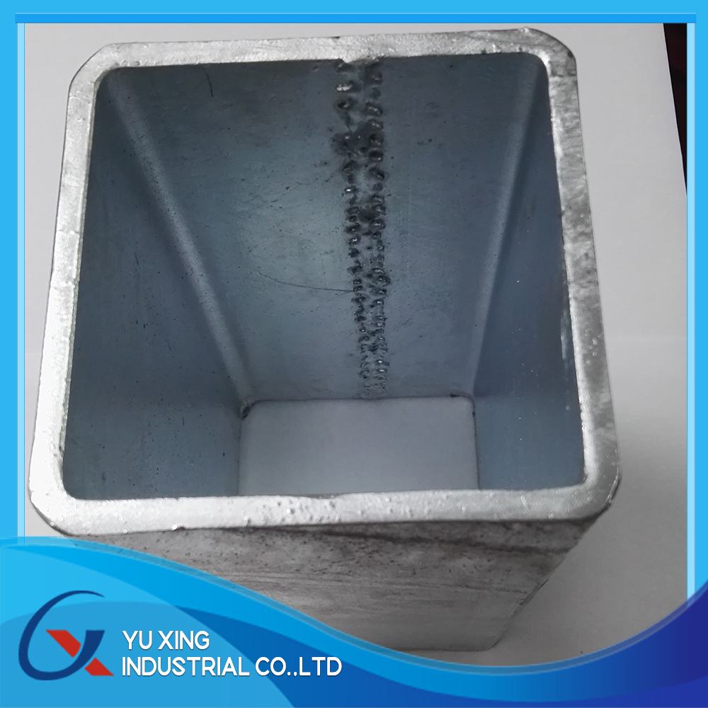 aluminium hollow section S355 steel pipe