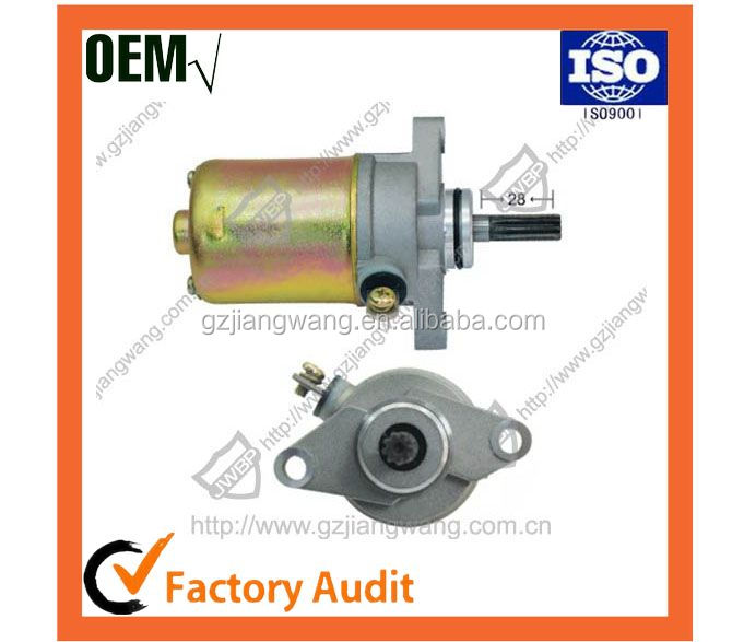 Factory Directly Price Motorcycle Parts Starter Motor BWS100 for yamaha