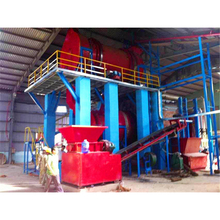 rice husk carbonizer wood charcoal making furnace with CE ISO