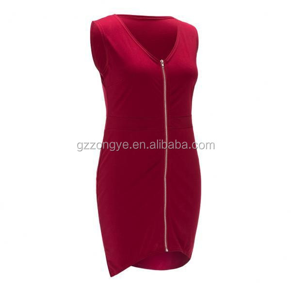 High quality women's clothes bandage sexy one-piece plus size red dresses for fat girl