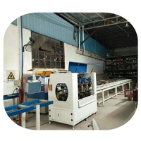 PA thermal break knurling rolling machine for aluminium profile