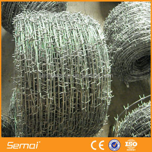 SHENGMAI 150m,200mm Barbed Wire Length Per Roll