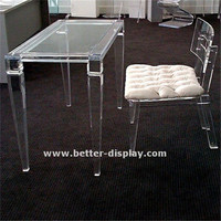 OEM and ODM clear acrylic furniture set
