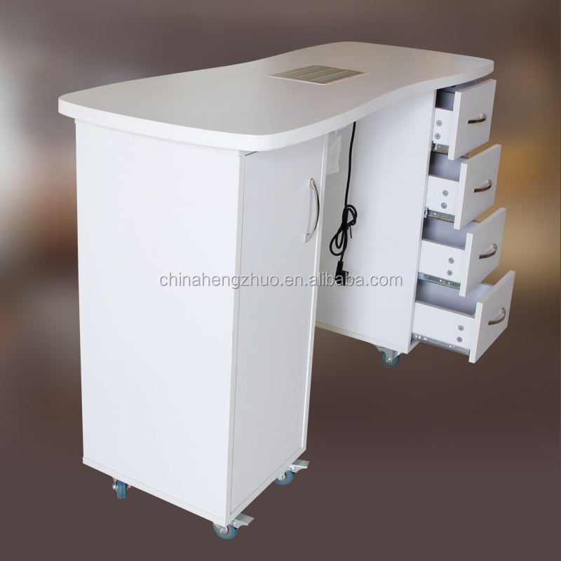 Dignity Lamp Nail Table,Nail Manicure Table Dust Collector Hz-2027 ...