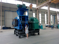 Large Capacity Rice Husk Charcoal Briquette Making Machine For sale