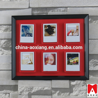 China direct manfacturer beautiful picture frame, colorful Plastic home decoration art clay
