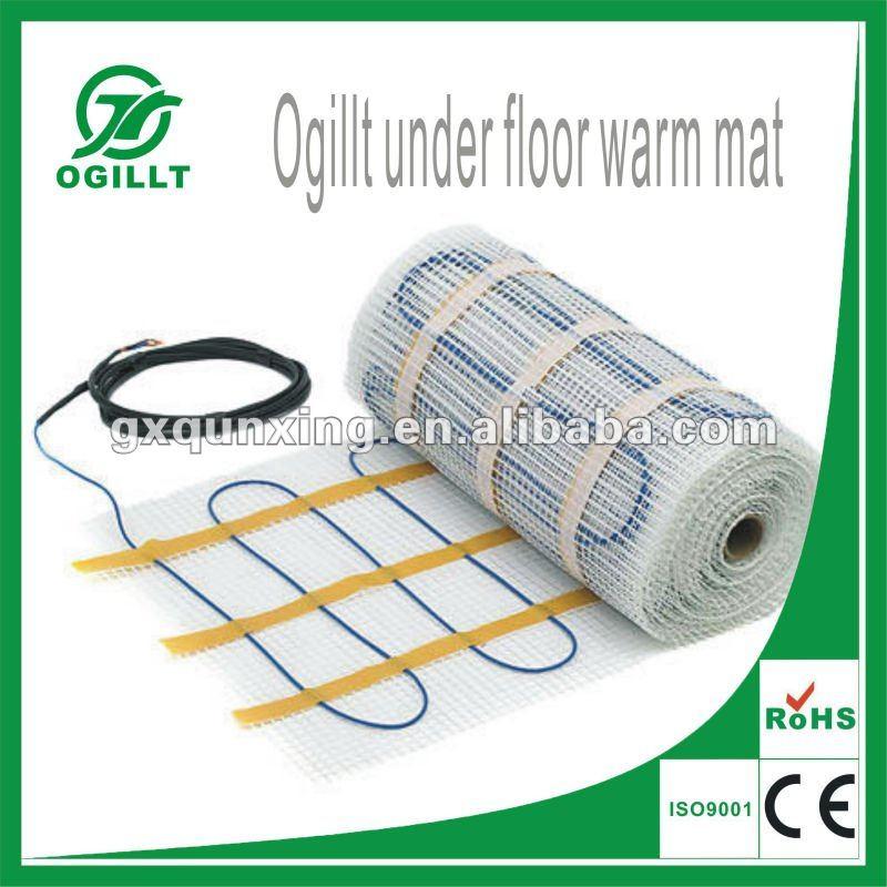 Estera de calefacci n por suelo radiante el ctrico - Calefaccion por hilo radiante ...