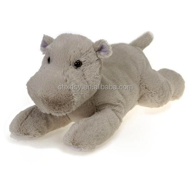 Hot sale Small Soft Animal Stuffed Hippo Plush Toys for Kids