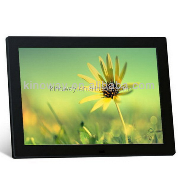 AD player <strong>15</strong> inch digital photo frame, multi function music picture clock calendar support