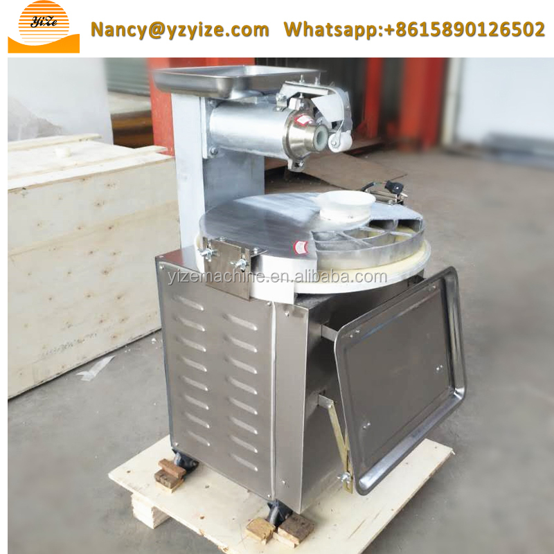 Automatic pizza dough divider and rounder machine | dough extruder sheeter divider